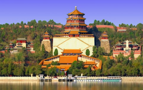 北京市:  中国:       Summer Palace (YiHeYuan)