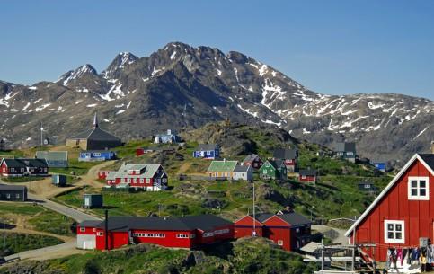 Гренландия:  Дания:      Лето в Гренландии