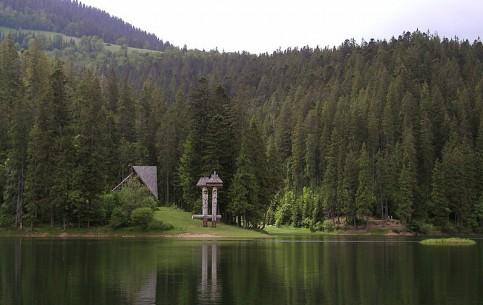 Lviv:  Ukraine:      Synevyr Lake