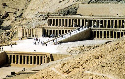 图片 Temple of Hatshepsut 寺庙