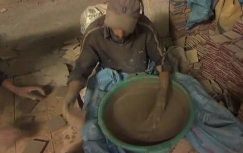 Фес:  Марокко:      Гончары Феса