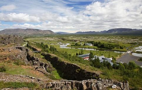 Исландия:      Национальный парк Тингвеллир