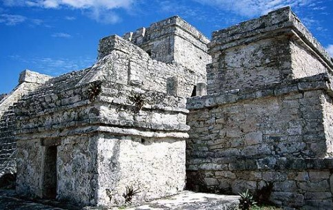Tulum is an ancient city of the Maya civilization, founded in 12 c. AD, probably a large trade port of the time. Temple of the Frescoes; cave and cenote systems.