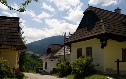Žilina :  Slovakia:      Vlkolínec