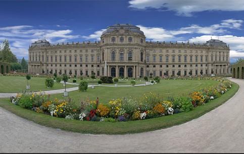 Вюрцбург:  Бавария:  Германия:      Вюрцбургская резиденция