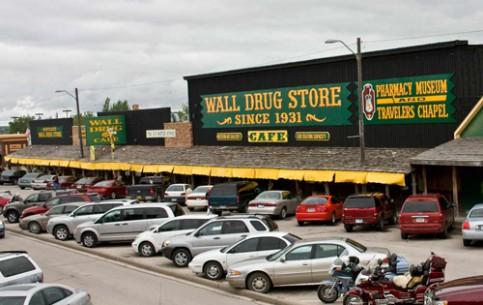 South Dakota:  アメリカ合衆国:      Wall