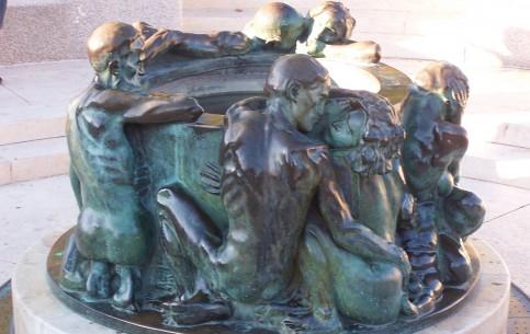 Zagreb:  Croatia:      Fountain Well of Life