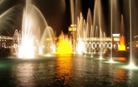 图片 Yerevan Singing Fountain 地标