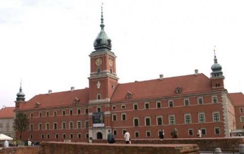 Варшава:  Польша:      Королевский дворец