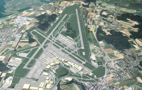 Аэропорт Цюрих - крупнейший