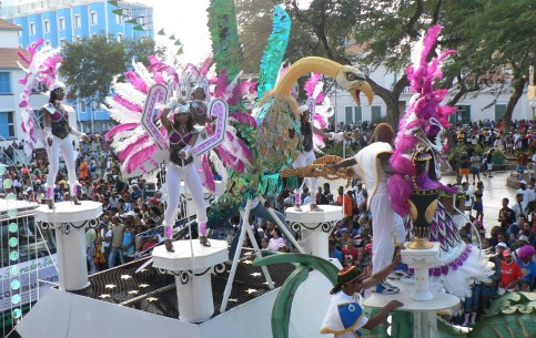 The most joyous festival in Cape  Verde is the February carnival, held in Praia and Mindelo and quite comparable in brilliance with world famous Brazil carnival
