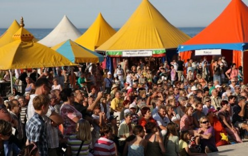Festivals in Kolobrzeg are held constantly: Saline Fair, Music Summer, Kolobrzeg's Chamber Concerts, folklore Interfolk.