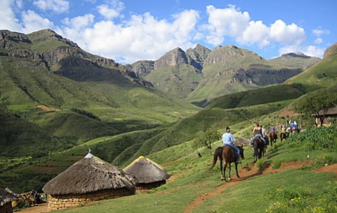 Majestic mountain scenery and colorful culture of local inhabitants make Lesotho one of the best places in the world for hiking and trekking; fascinating fishing