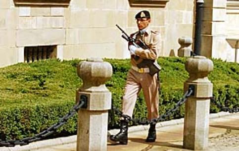 卢森堡:      Changing of the honour guard in Luxembourg