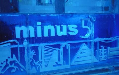 拉斯维加斯:  内华达州:  美国:      minus5 Ice Bar