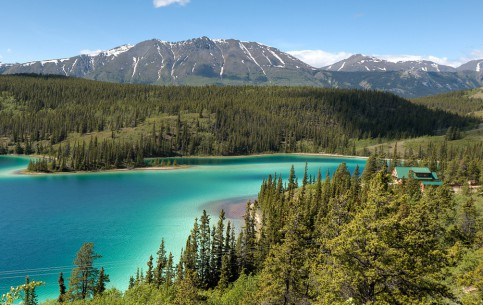 The Yukon Territory is a part of a vast subarctic region with long cold winters and short cool summers. Bring home photographs of the Yukon's rivers, glaciers and wildlife