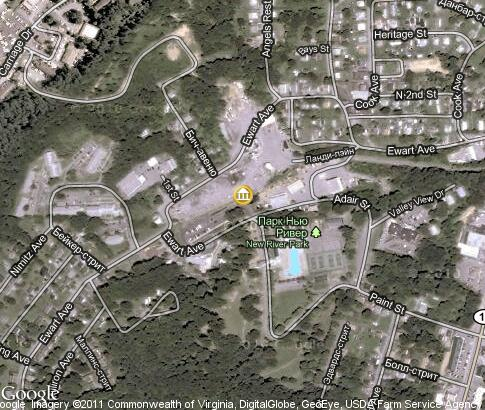 地图: Beckley Exhibition Coal Mine