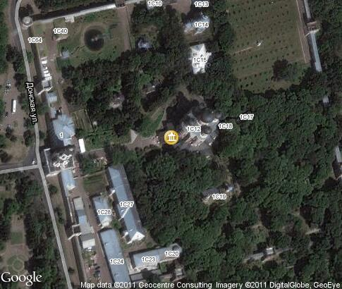 map: Great Cathedral of the Theotokos of the Don