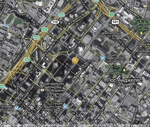 hill: 卫星地图