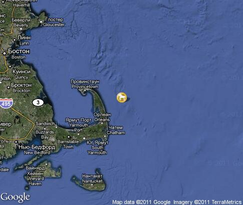 Cape Cod Whale Watching: video, por tourist places ... Satelite Map Of Provincetown on