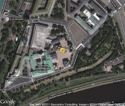 map: Cathedral Square