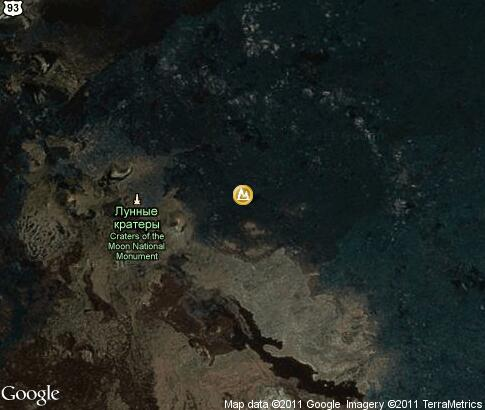 map: Craters of the Moon National Monument and Preserve