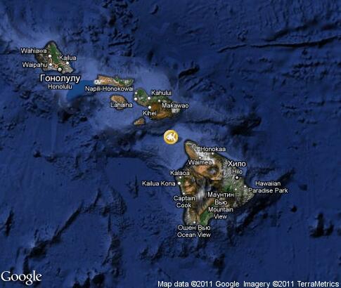 潜水: 视频, 地标, 卫星地图 - 夏威夷州 - 美国