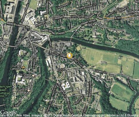 map: Durham University