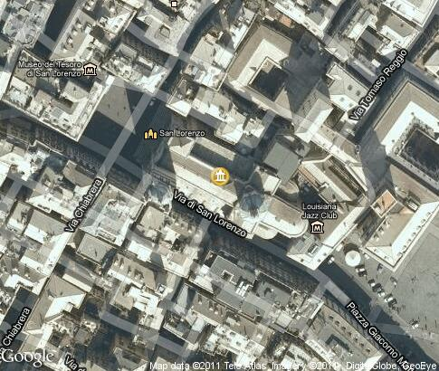 map: Genoa Cathedral