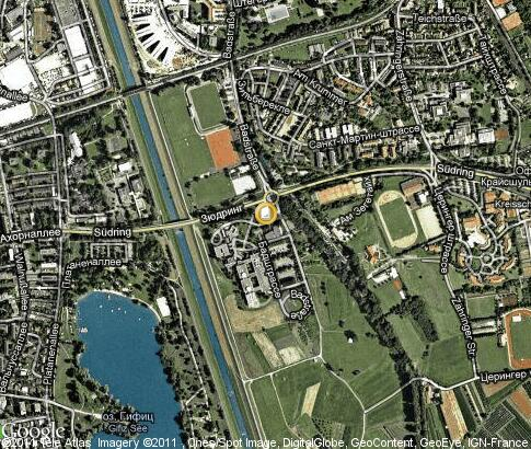 map: Hochschule Offenburg (University of Applied Sciences)