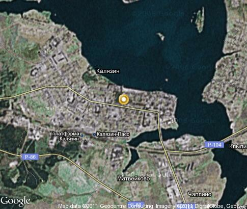 Подробная карта дорог города