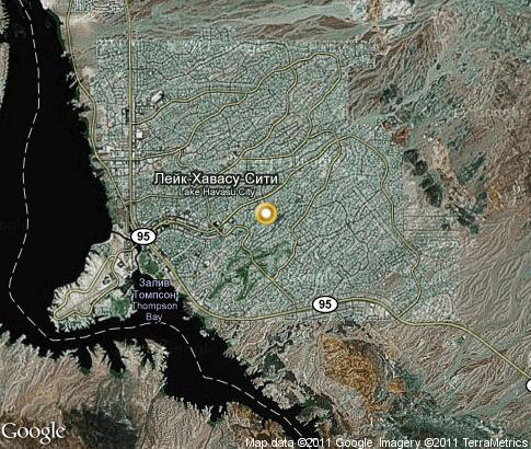 map: Lake Havasu City