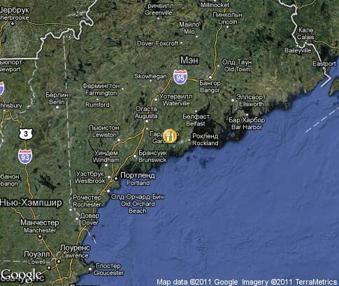 map: Maine lobster