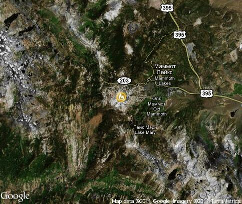 map: Mammoth Mountain