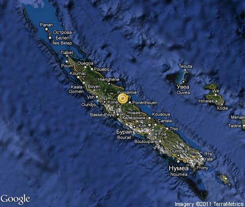 map: New Caledonia
