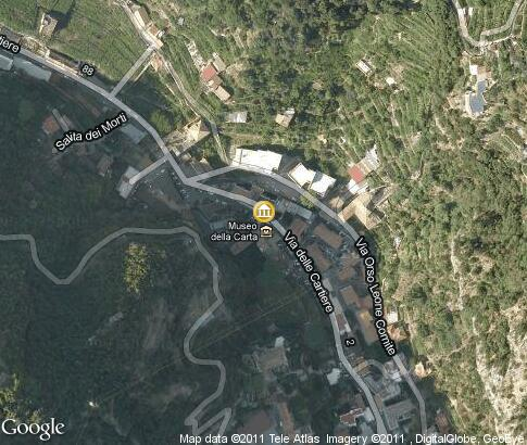 map: Paper Mill Museum, Amalfi