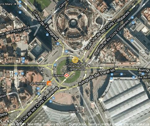Placa D Espanya Video Popular Tourist Places Satellite