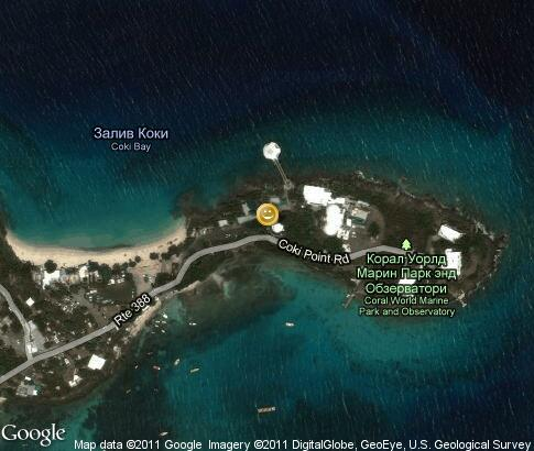 map: Coral World Ocean Park