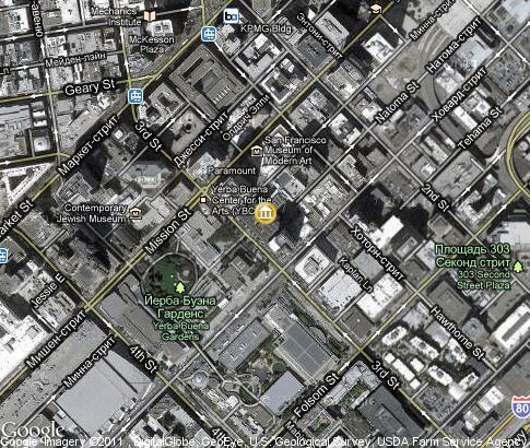 map: San Francisco Museum of Modern Art