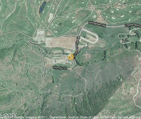 map: Soldier Hollow ski resort