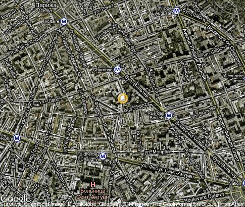 map: Speos - Paris Photographic Institute