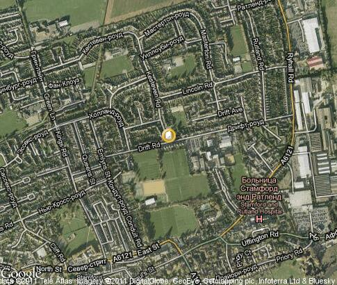 map: Stamford College