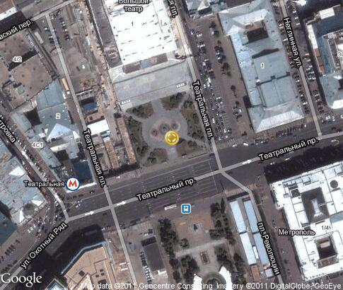 map: Theatre Square