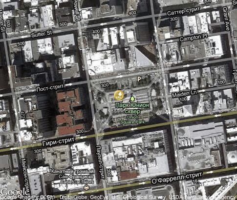 map: Union Square