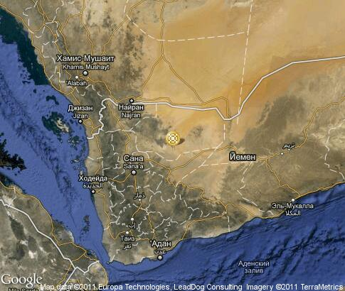 A Map Of Yemen. Detailed interactive map Yemen