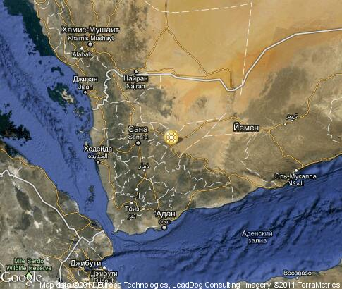 map: Yemen, handicraft