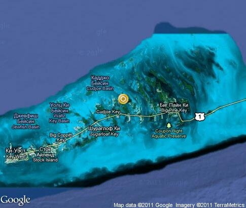 map: Florida Keys