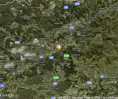 karlovy vary map tourist - photo #23