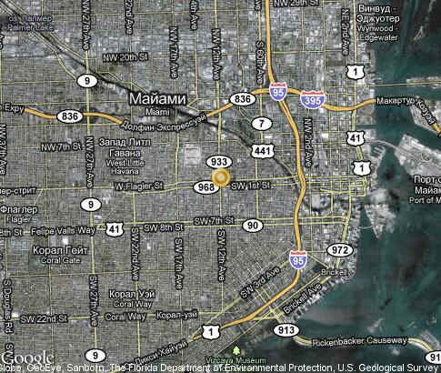 map: Little Havana