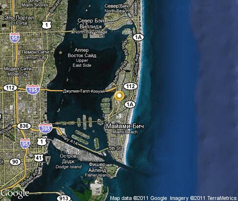 map: Miami Beach